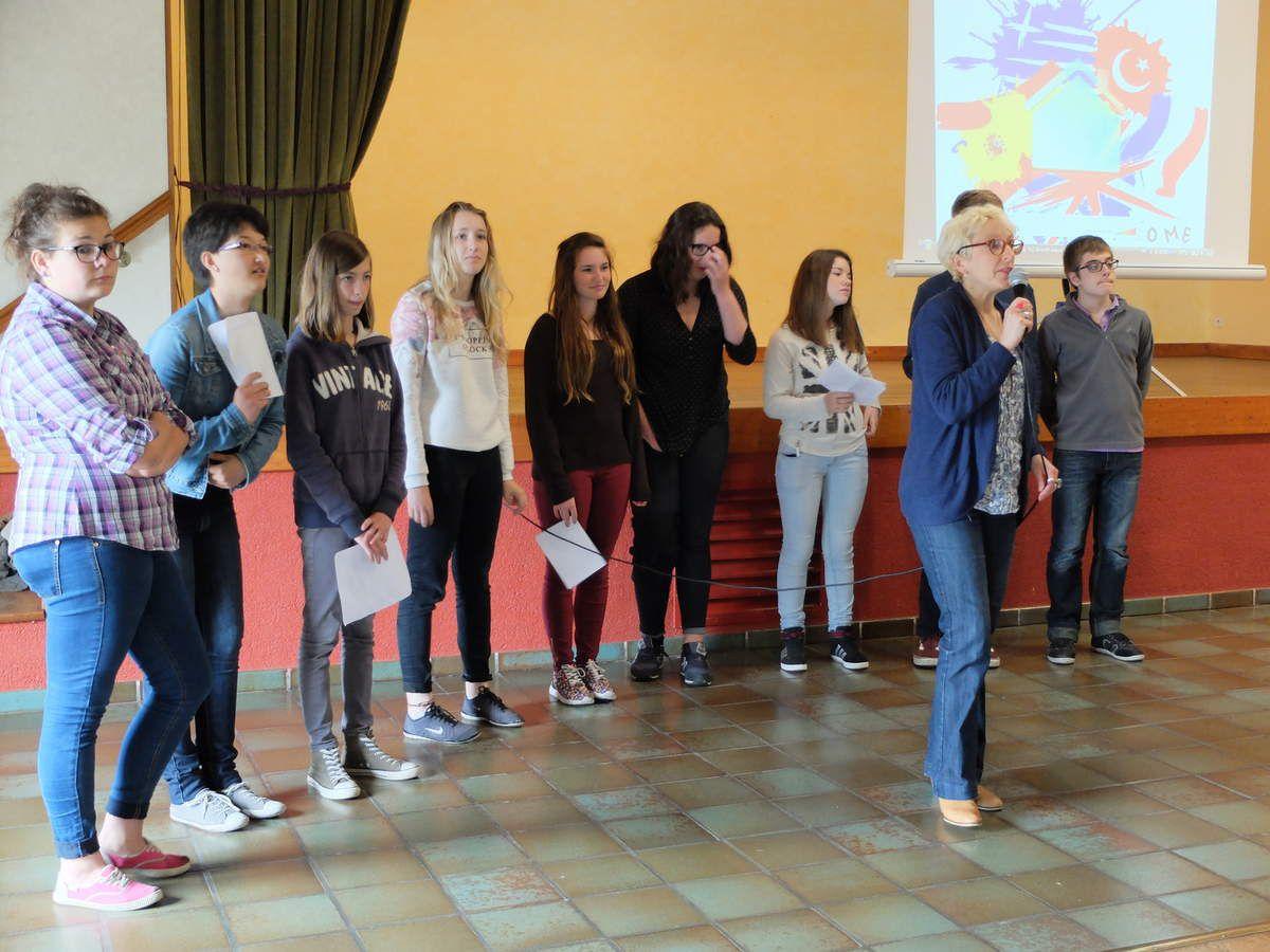 Dissemination meeting at Collège Calmette et Guérin