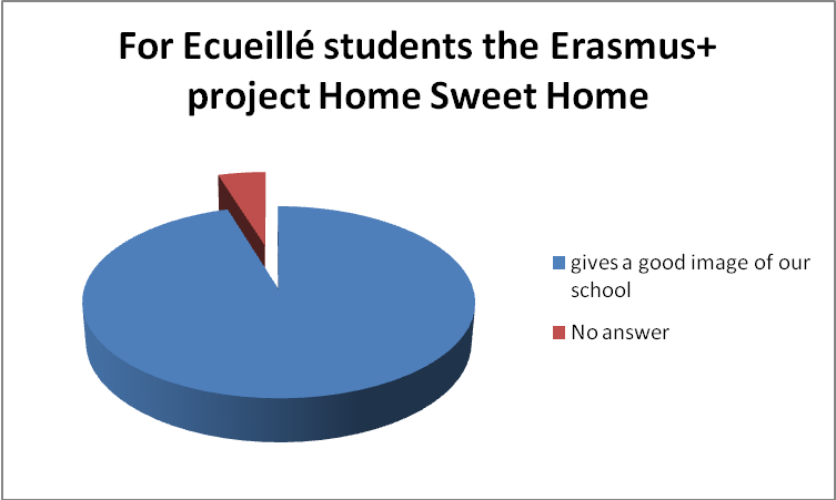 Ecueillé students give their opinion about Home Sweet Home project