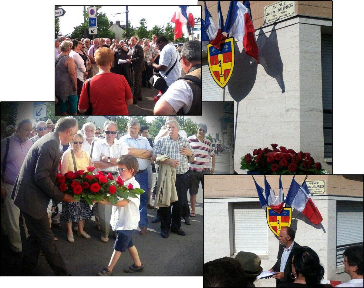 Hommage à Jean Jaurès : l'intervention de Christophe Counil, Premier secrétaire fédéral du PS
