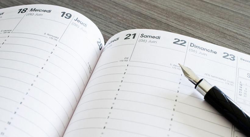 Les temps forts de mon agenda cette semaine (2016 - 41)