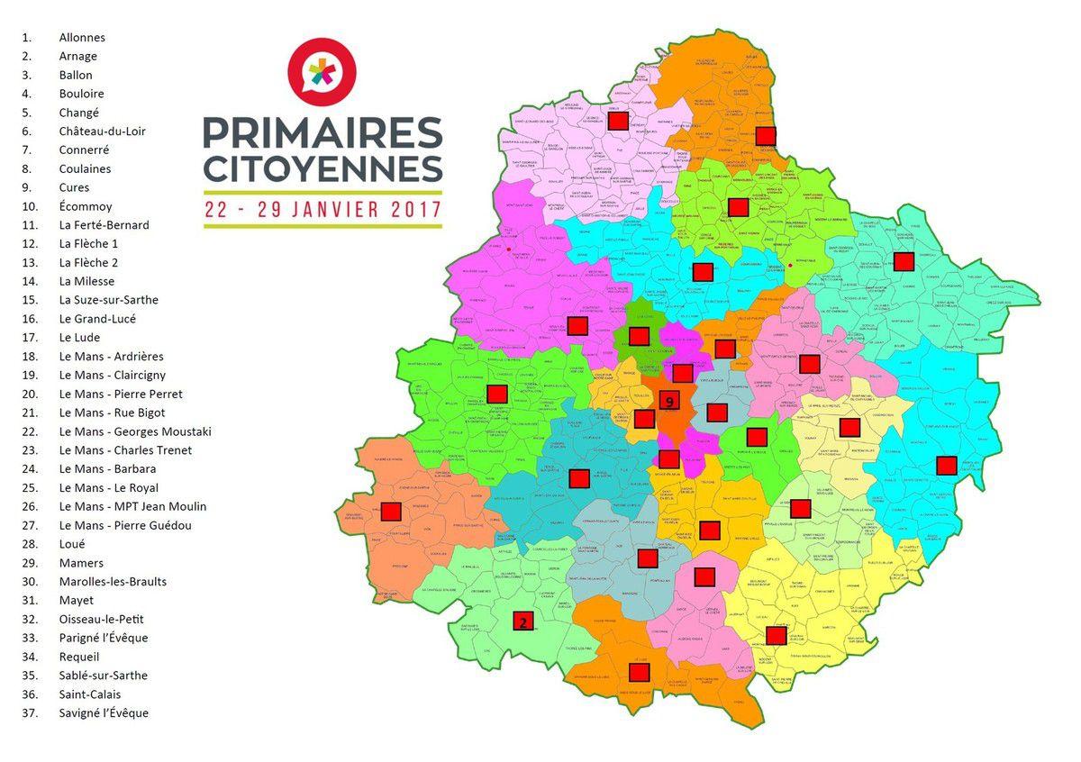 Primaires citoyennes : le mode d'emploi pour la Sarthe
