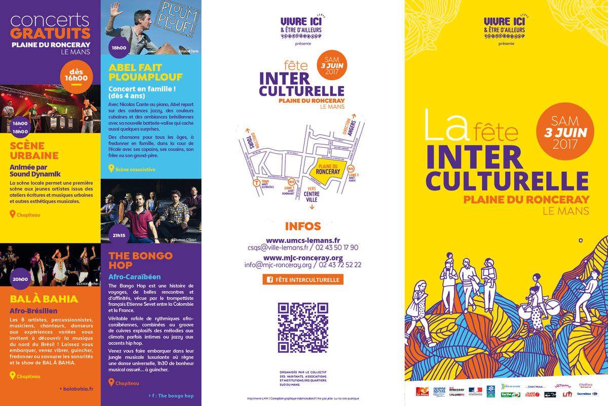 Découvrez le programme de la Fête interculturelle des Quartiers Sud - Samedi 3 juin.