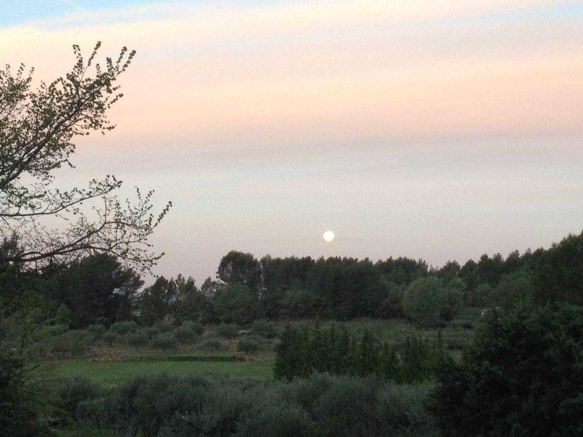 Pleine lune ce matin à 7h