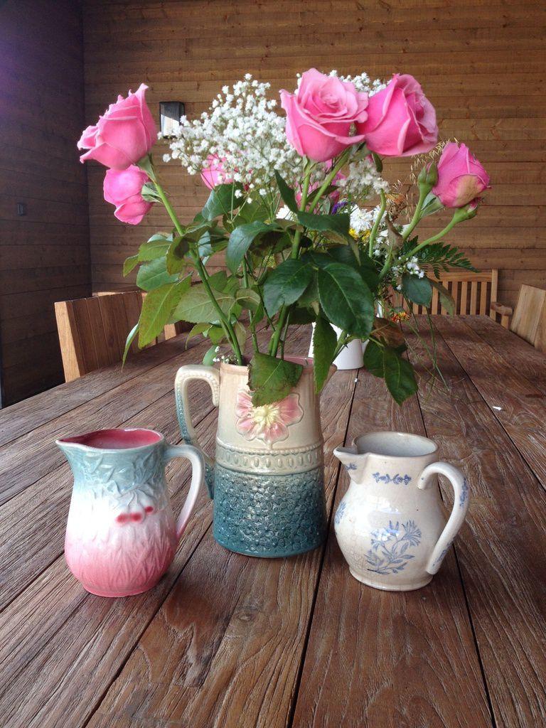 Jolis vases chinés à Pont-Aven