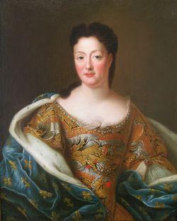Portrait de la duchesse Elisabeth-Charlotte 18e siècle © Musée du Château de Lunéville.