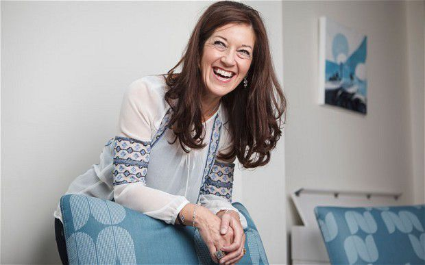 Victoria Hislop (Photo: Rii Schroer for The Telegraph)