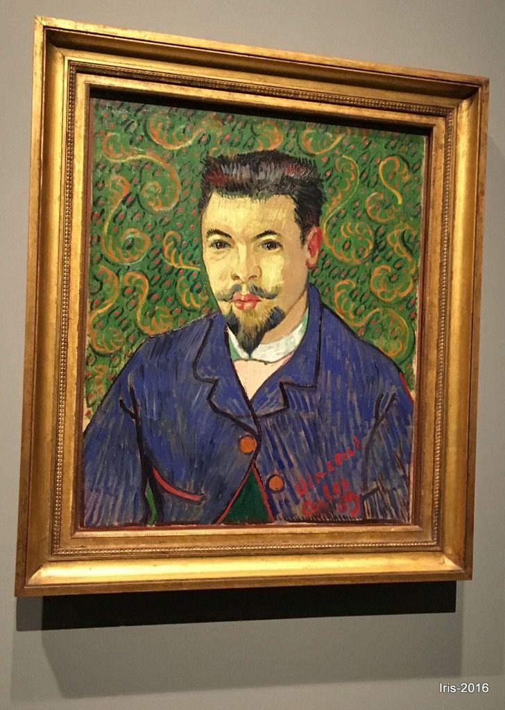 Portrait du docteur Rey, Vincent Van Gogh, 1889