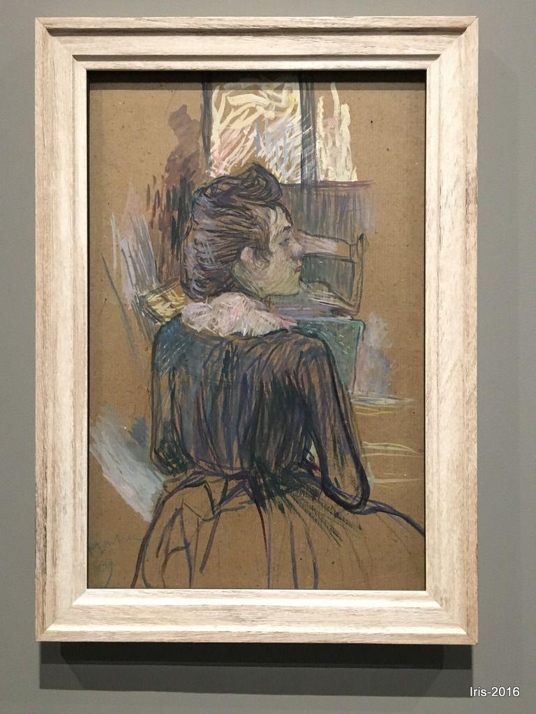 Femme à la fenètre, Henri de Toulouse Lautrec, 1889
