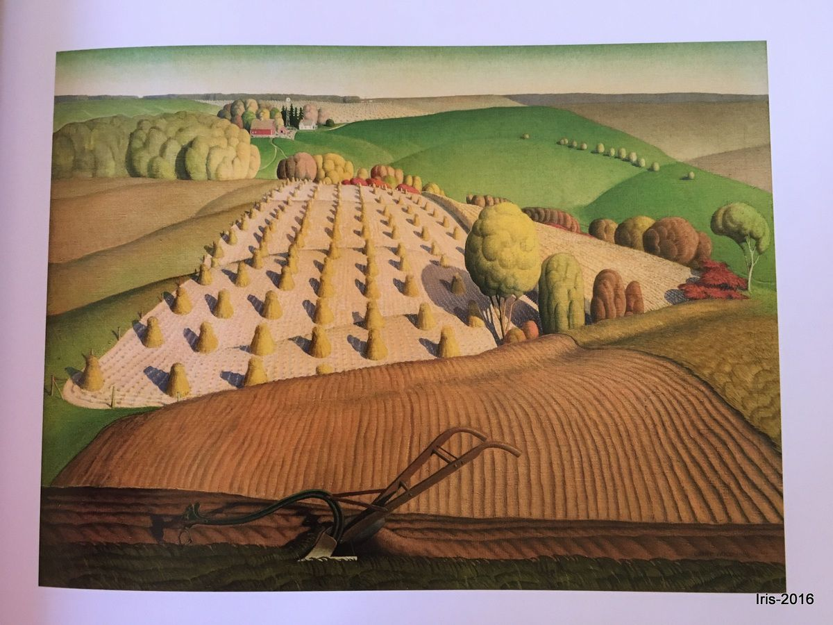 Fall Plowing &#x3B; Grant Wood (1931)