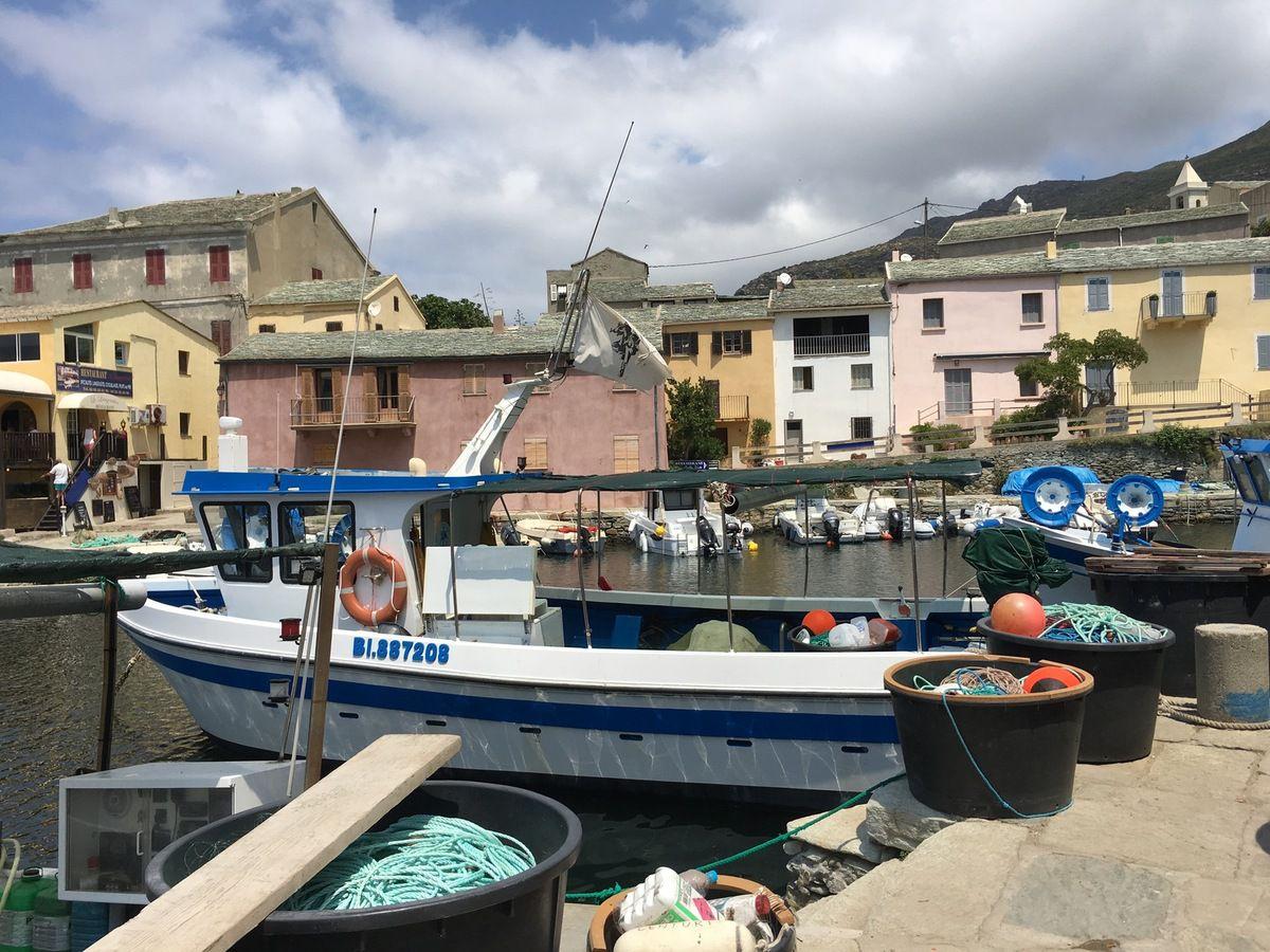 Centuri Port aux allures de pêche et plaisance