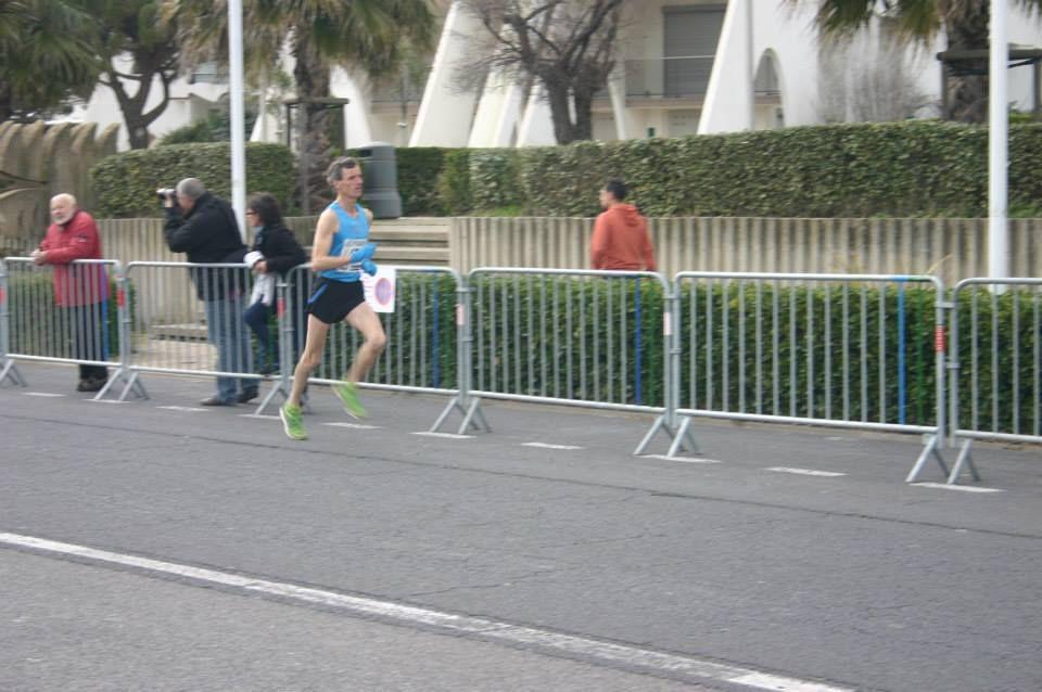 le run 5km300 la grande motte (02/02/2015)