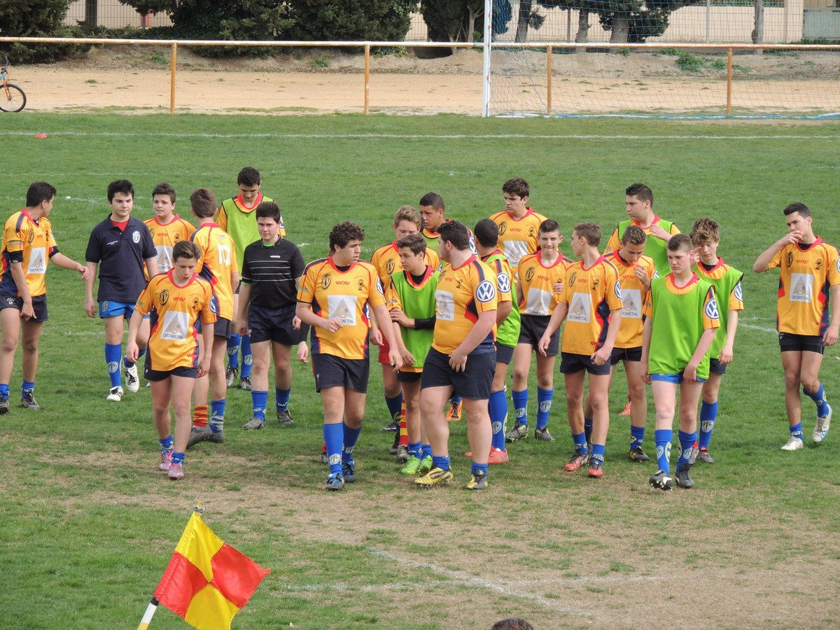 rugby rc arles /martigues port de bouc (photos)