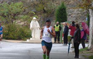 la foullée de l'olivier  mouries (18/10/2015)