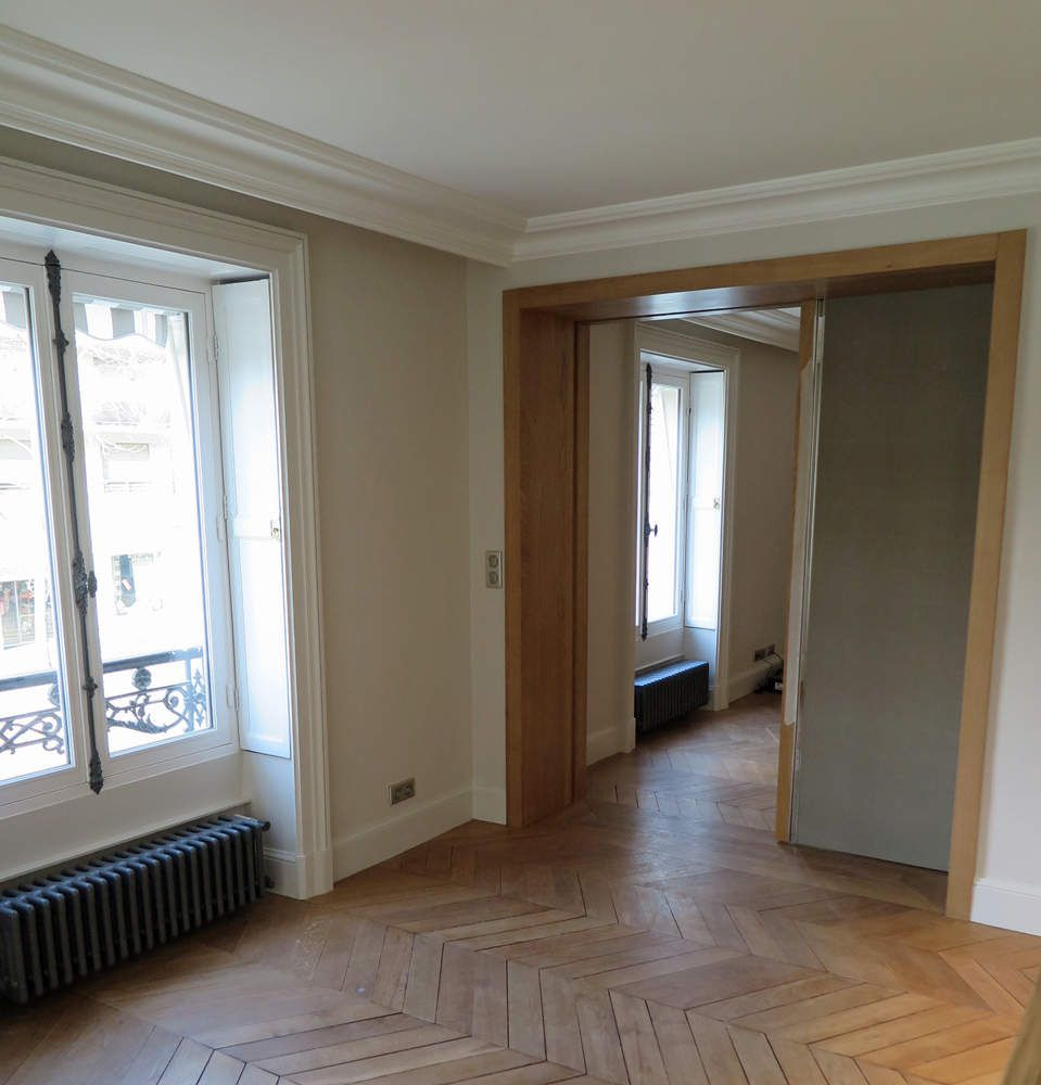 projet d 39 architecture int rieure dans un appartement paris 17 eme. Black Bedroom Furniture Sets. Home Design Ideas