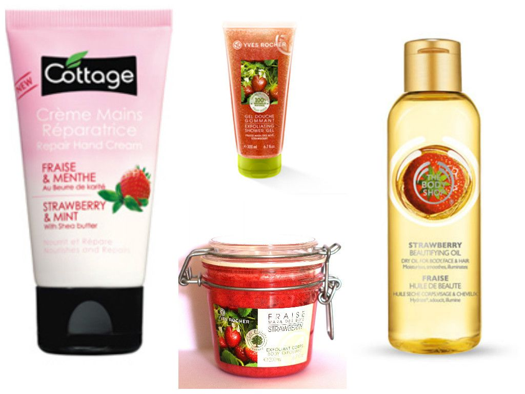 #Fraise #Cottage #YvesRocher #TheBodyShop #Miam