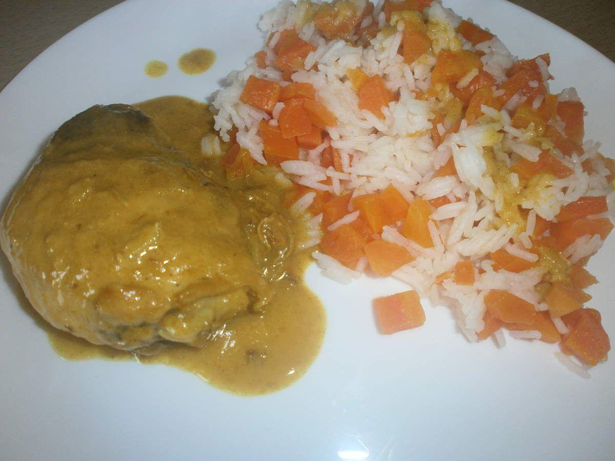 Poulet au lait de coco et curry ww se r galer en mangeant quilibr - Poulet au curry et lait de coco ...