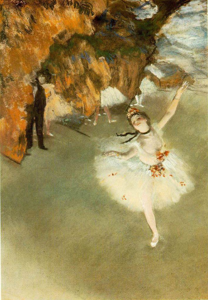 Prima Ballerina, Degas, 1878