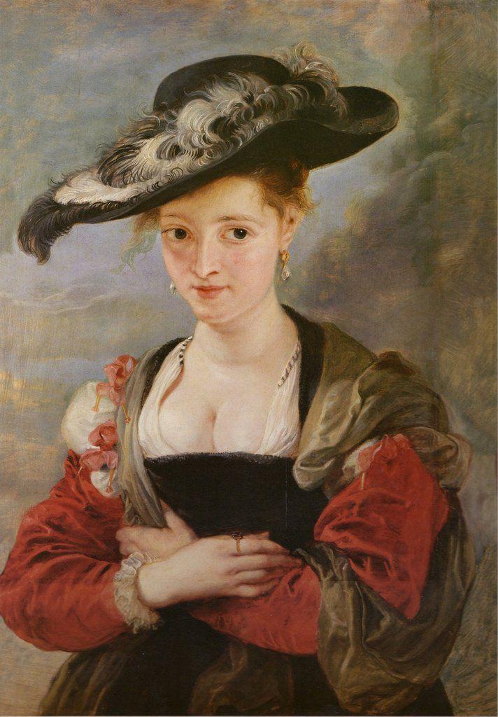 El sombrero de paja, Rubens, 1625