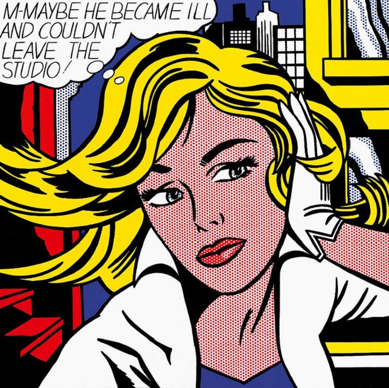 M-maybe, Lichtenstein, 1965