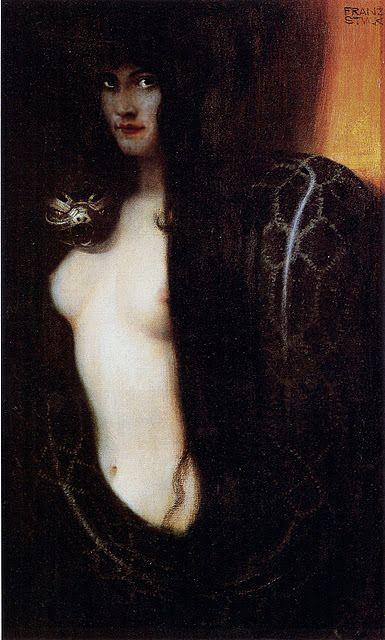 Pecado, Stuck, 1891