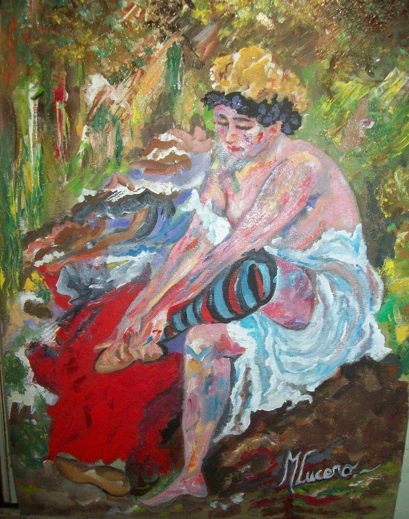 Despues del baño, Corinth, 1906