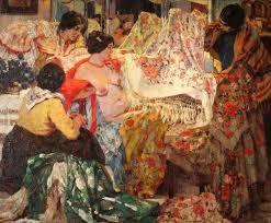 Los mantones de manila, Fader, 1914