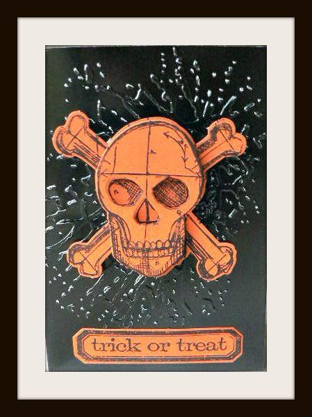 carte tête de mort