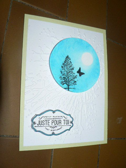 arbre lovely three stamp'in up