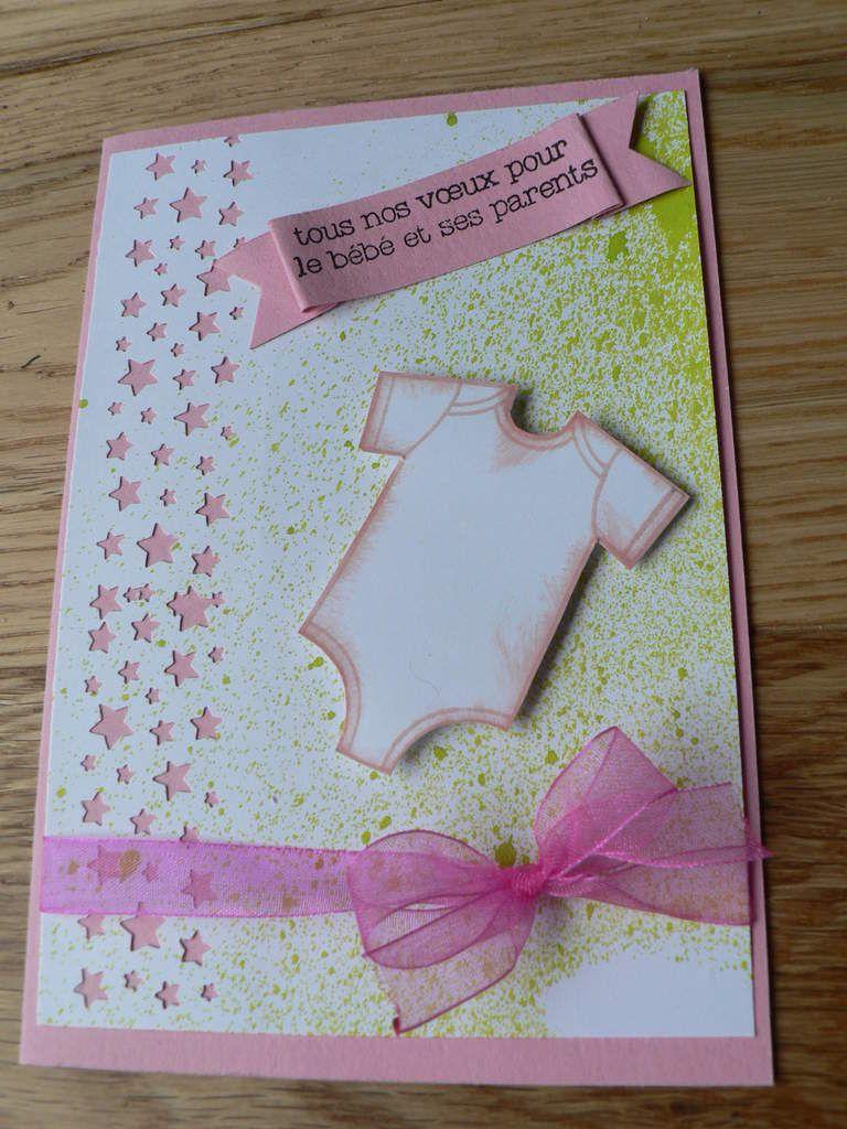 carte félicitations stampin'up &quot&#x3B;fait avec amour&quot&#x3B;