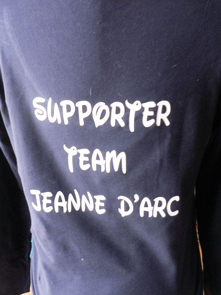 Un tee shirt personnalisé pour aller à la french cup