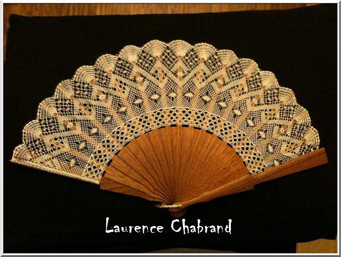 Les éventails de Laurence Chabrand
