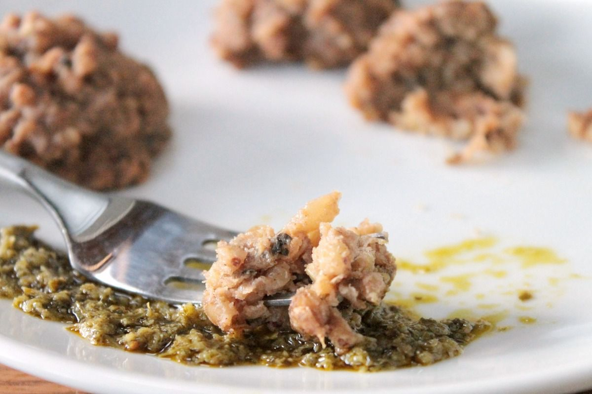Boulettes de kasha (sarrasin)