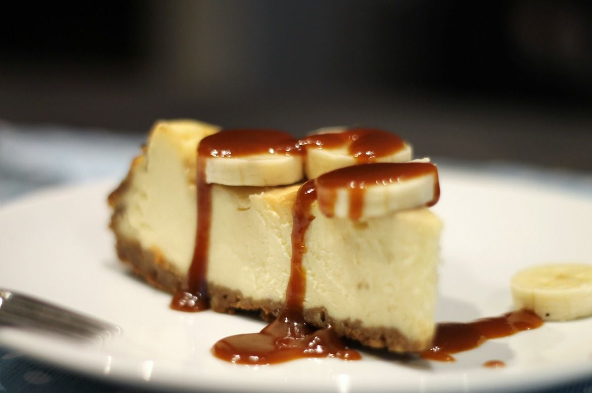 cheesecake banane caramel recette 28 images recettes. Black Bedroom Furniture Sets. Home Design Ideas