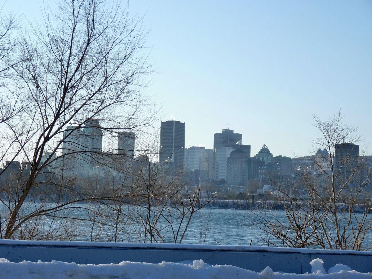 Montréal (vue depuis le circuit Gilles Villeneuve)