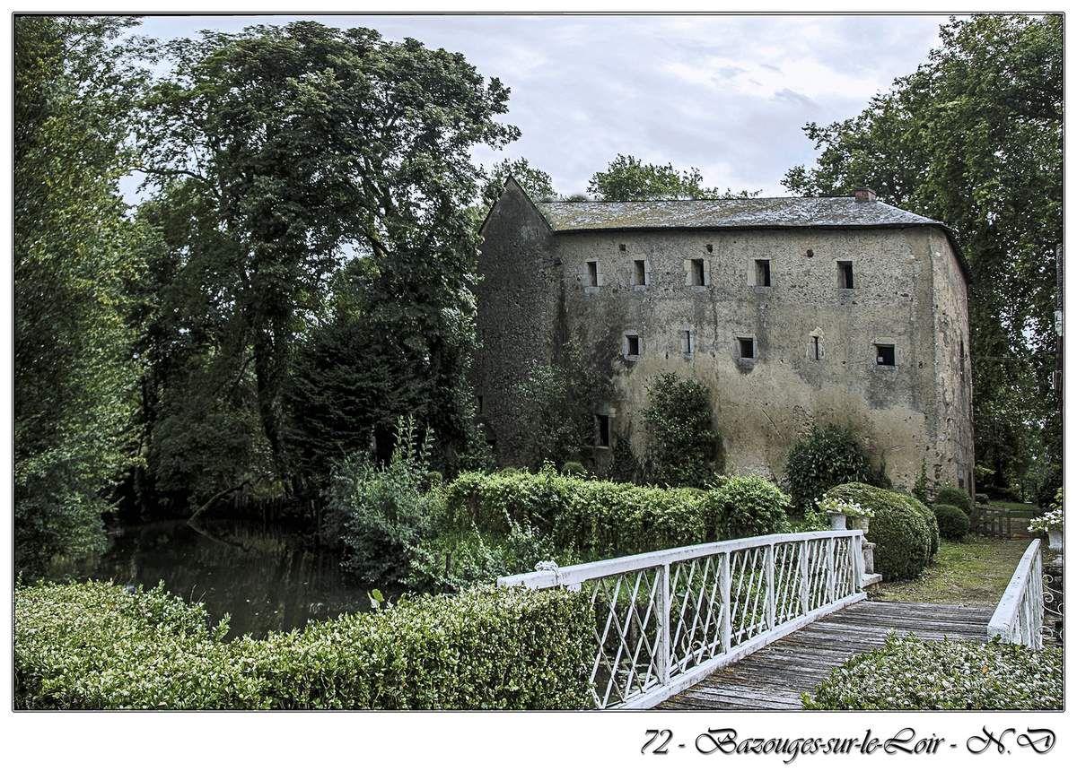 Le château de Bazouges