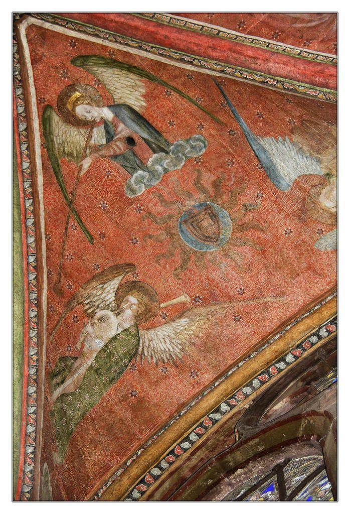 Anges musiciens Instruments à vent.