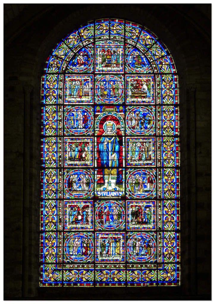 Vitraux - Cathédrale Saint-Julien du Mans