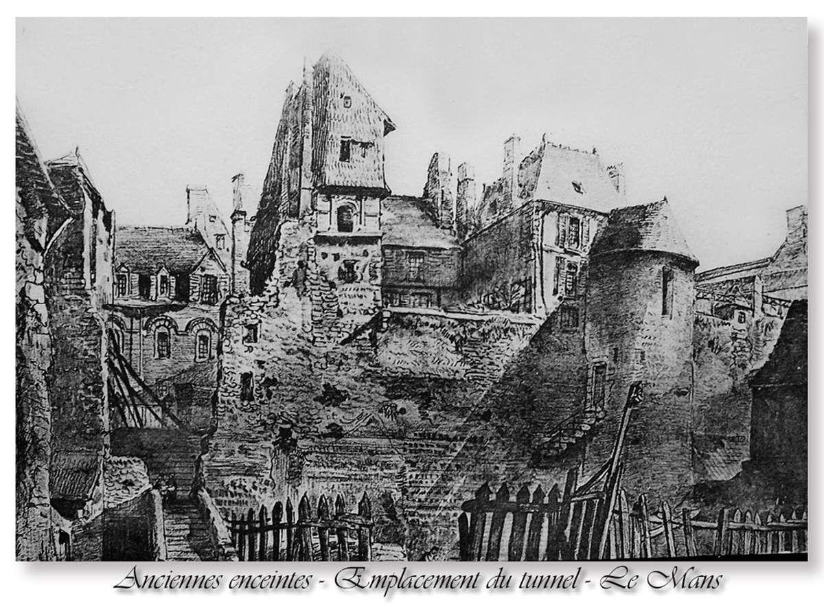 Tour de l'Estang, IIIème siècle, le Mans.