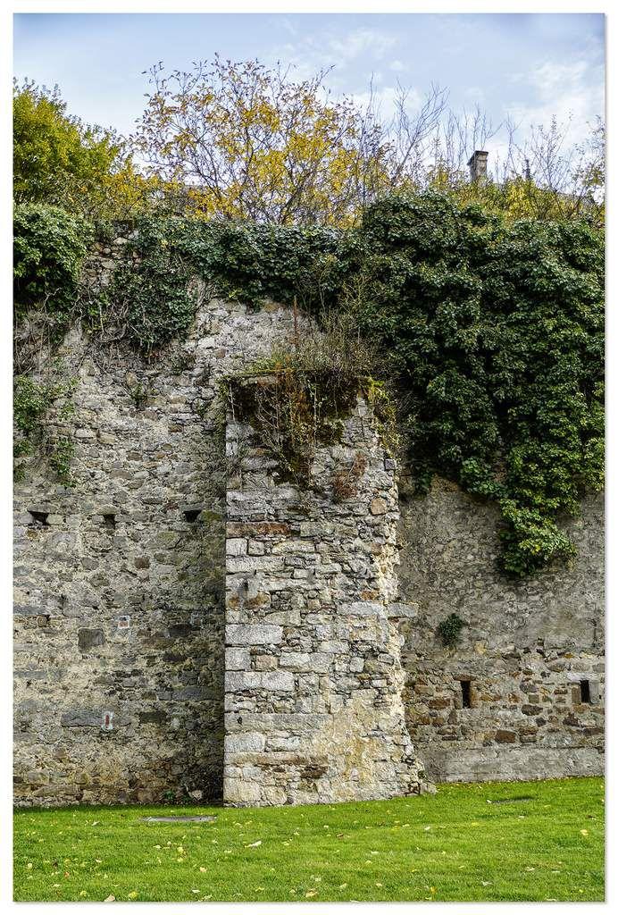 Poterne de Gourdaine IIIème siècle, le Mans.