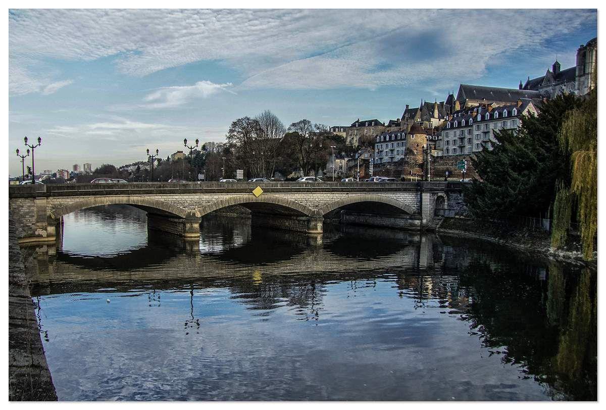 Pont Yssoir, le Mans.