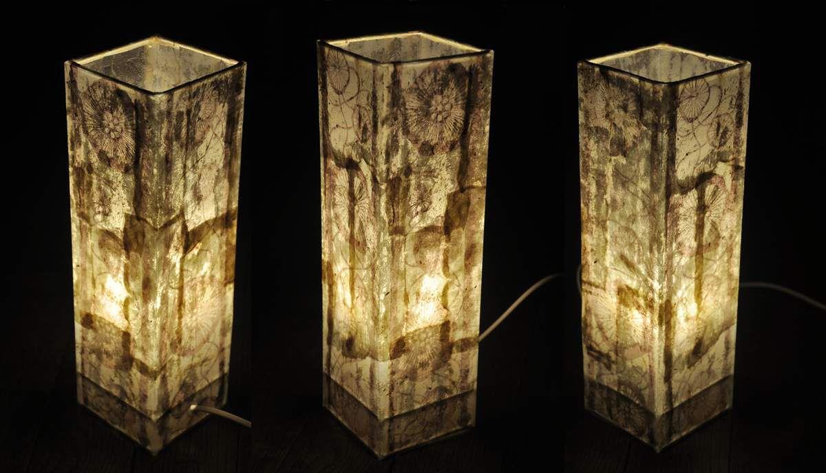 Des lampes, encore des lampes