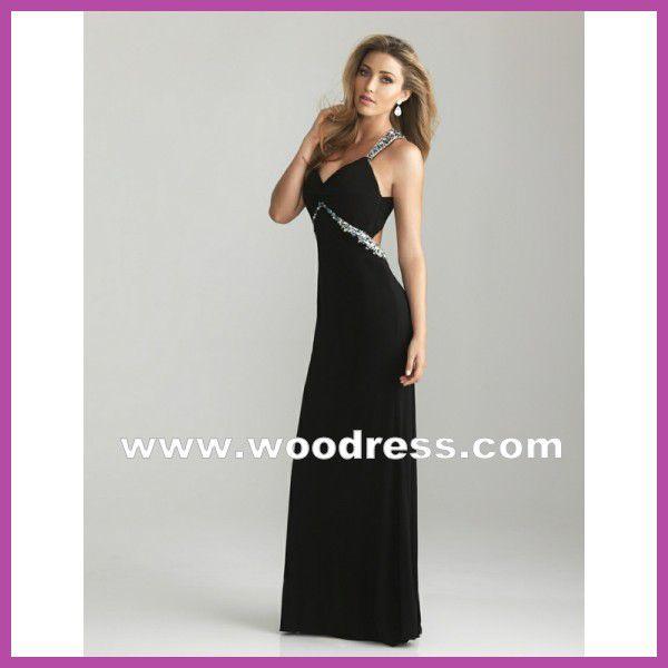 pick up 6aa2e b2165 Elegante Abendkleider schwarz lang günstig online ...