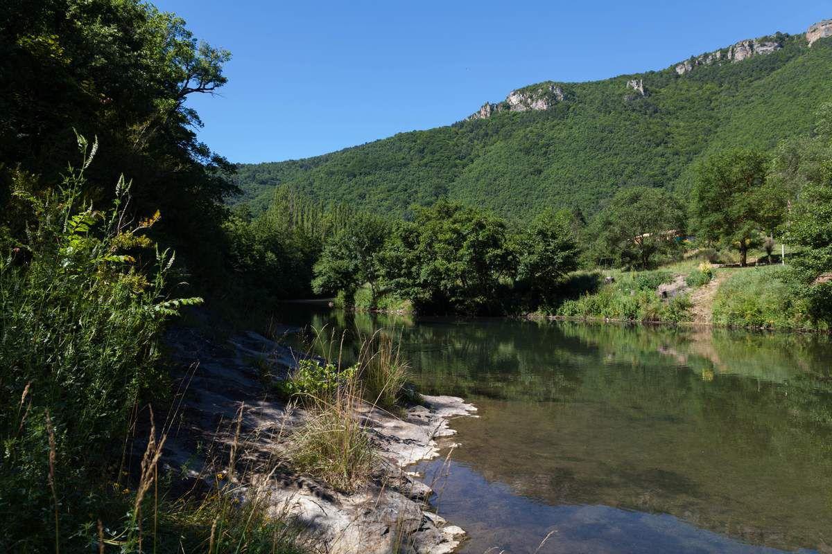 Causse Larzac - Balade de Cun à St Jean du Bruel