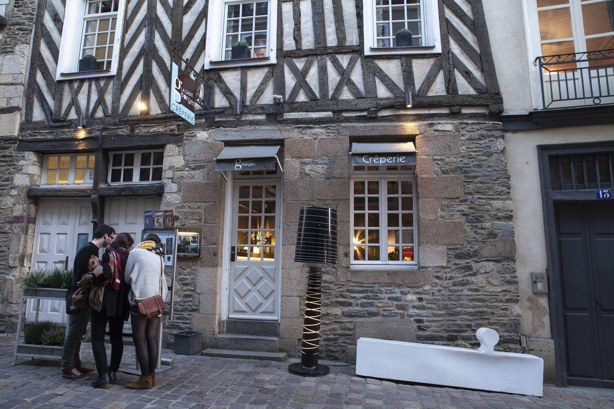 Rennes -  Rue du Chapitre