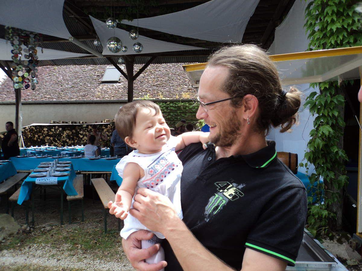 Et tous ceux qui pouponnent..... Vincent et sa fille