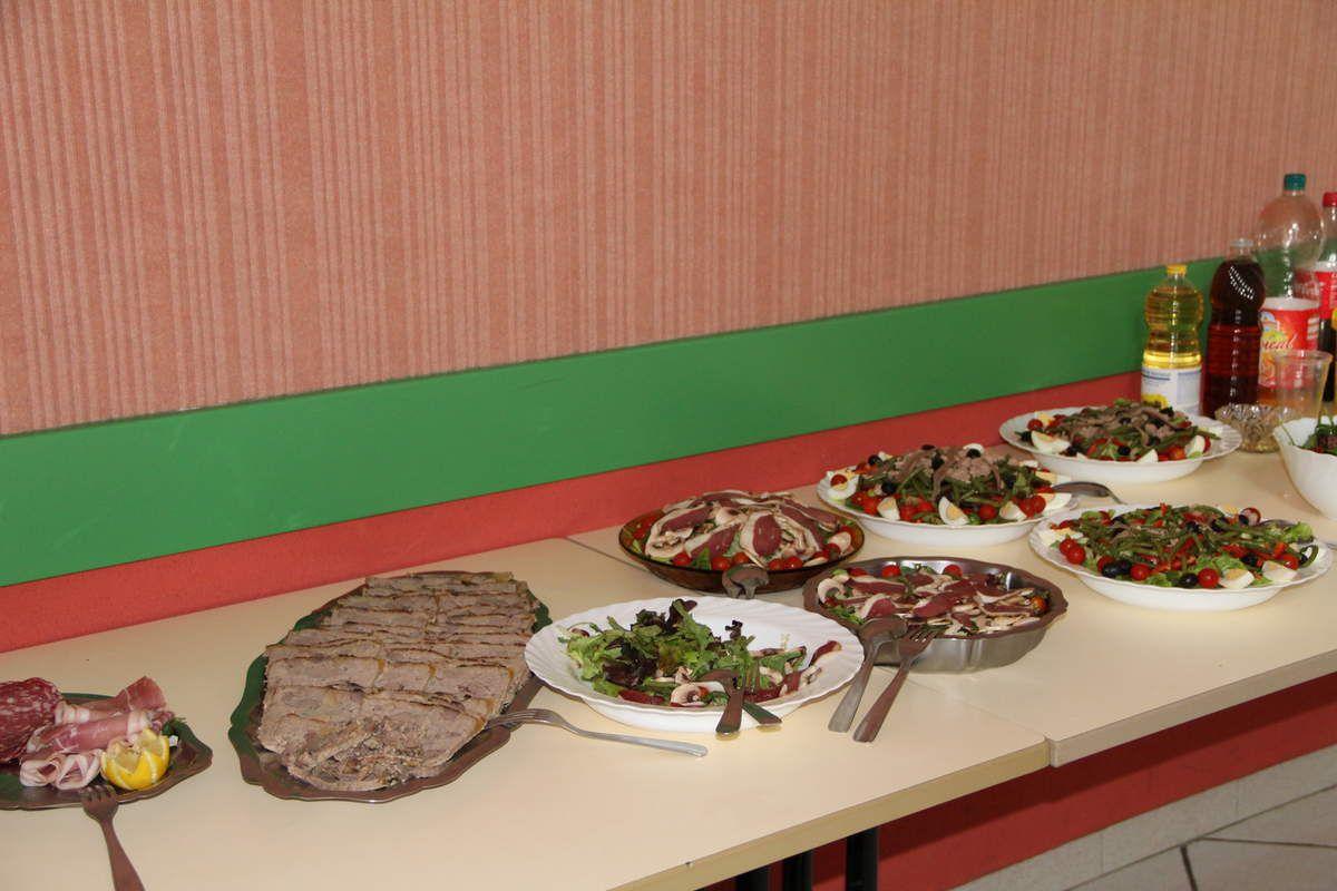 un beau buffet nous attend !