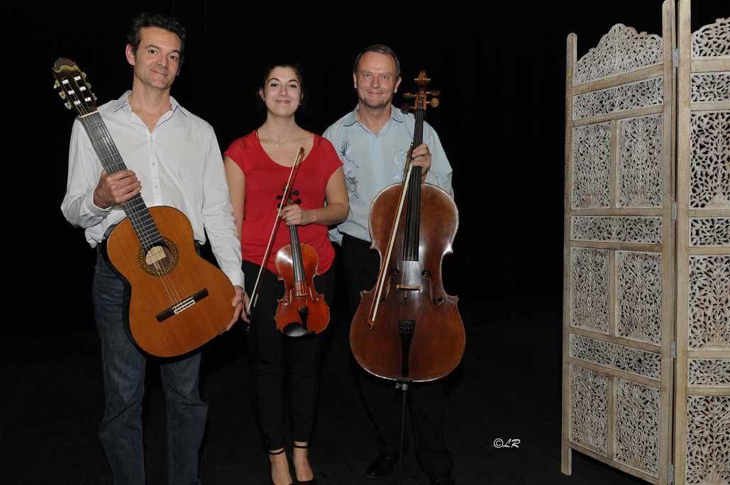 Images du concert à Céret le 19 décembre 2015 - Association Fil d'étoile.