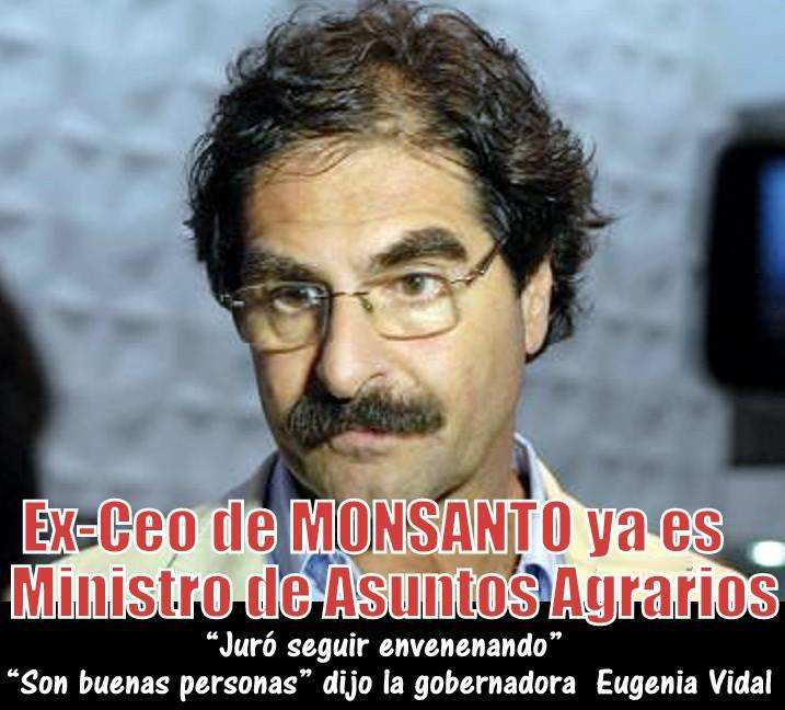 Ex Ceo de Monsanto ministro