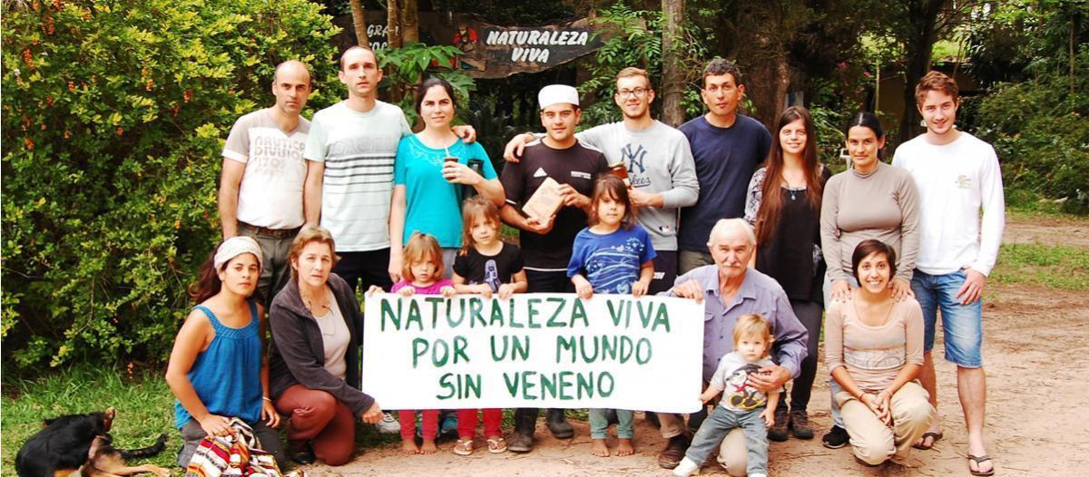 &quot&#x3B;Naturaleza Viva&quot&#x3B; alimentos sin agrotóxicos para todo el país