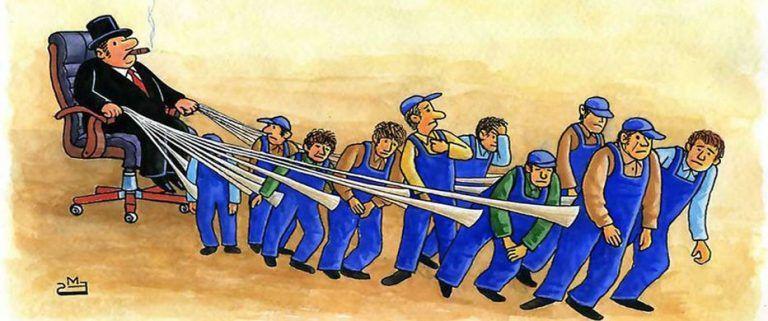Brutal aumento de la desigualdad en el capitalismo posindustrial